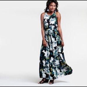 World Market floral sleeveless maxi dress L XL